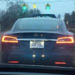 Image of the Day: Is this the best Tesla EV number-plate?