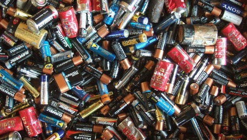 Batteries can cut carbon emissions, but mining the metals and other resources needed to make them can be a dirty business. Jon Seb Barber/Wikimedia Commons, CC BY