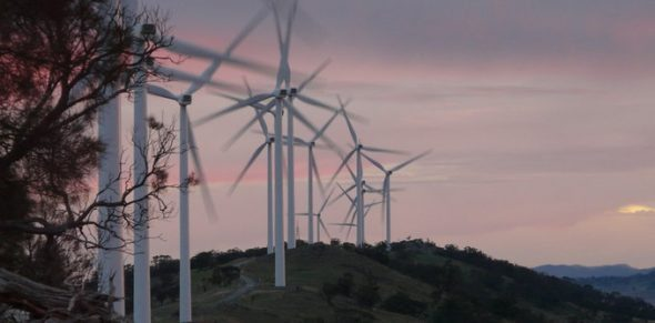 South Australia's wind energy is providing secure energy to the state. Shuttershock