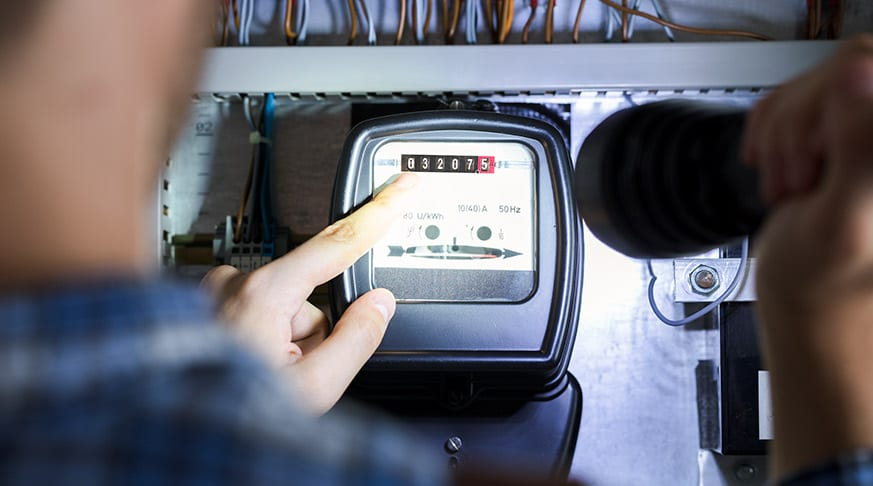 AEMC demand response decision Finger Pointing To Electric Meter Reading - optimised